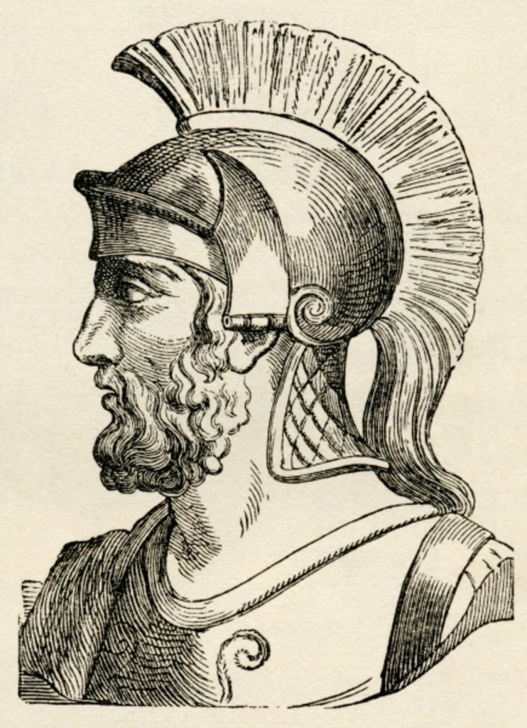 Detail of Themistocles by English School