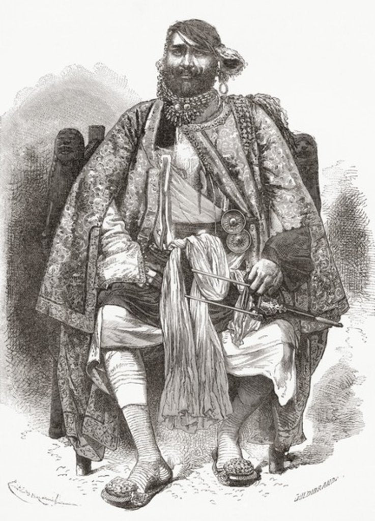 Detail of Rana Bhagwant Singh by European School