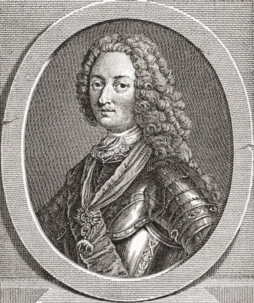 Detail of Louis d'Orléans, duc d'Orléans. Duke of Orléans and a member of the French royal family by French School