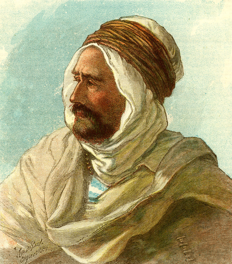 Detail of Ben Aisa the Kabyle Algiers 1885 by Anonymous