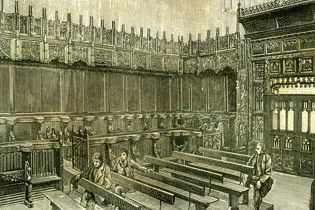 Detail of Aberdeen UK King's College Chapel 1885 by Anonymous
