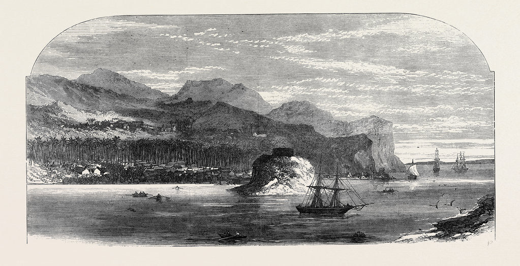 Detail of The Fiji Islands: Levuka the Capital 1873 by Anonymous