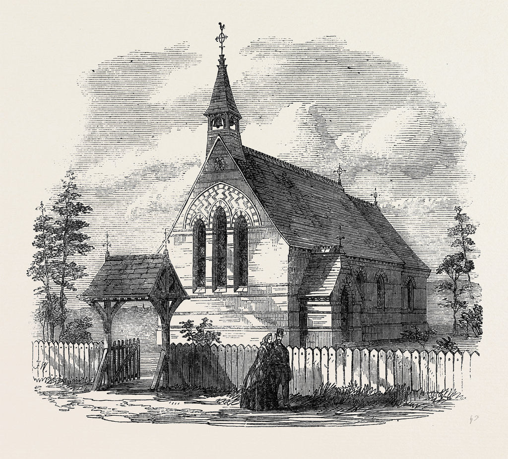 Detail of Memorial Church of St. John Burrangong New South Wales 1866 by Anonymous