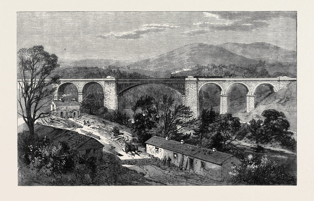 Detail of Viaduct on the Lime Branch of the Lancaster and Carlisle Railway by Anonymous