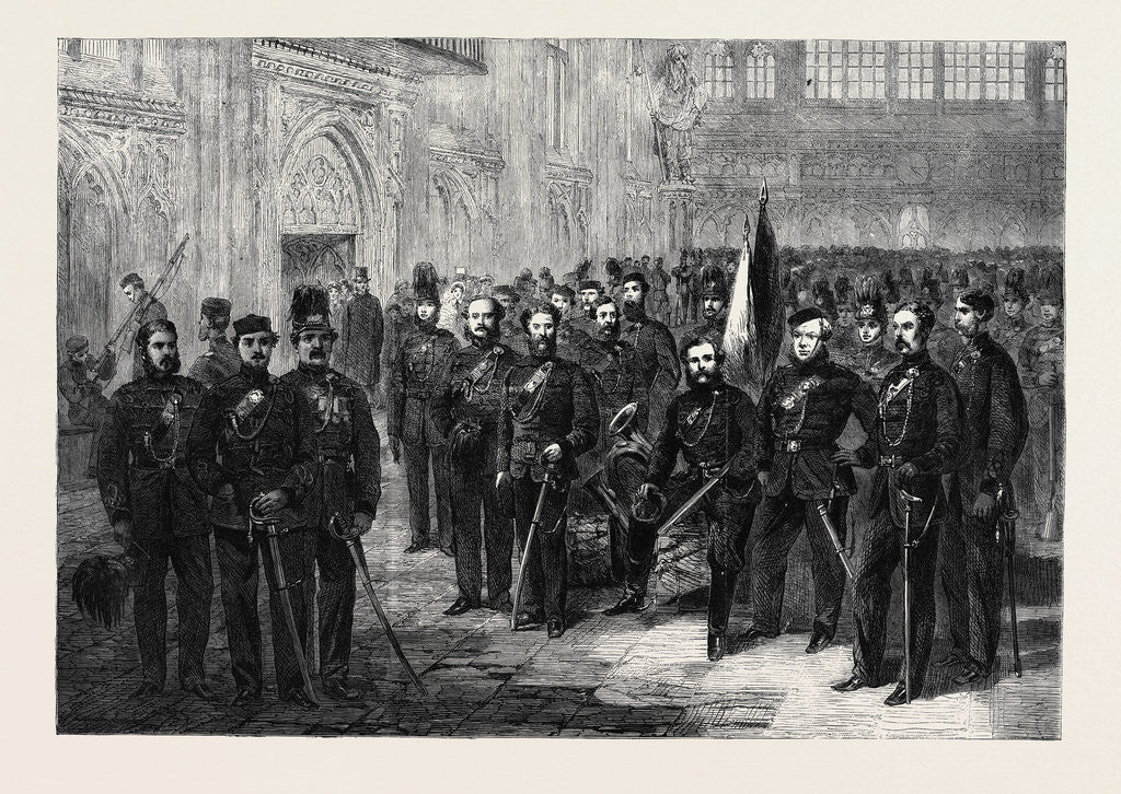 Officers and Privates of the London Rifle Volunteer Brigade by Anonymous
