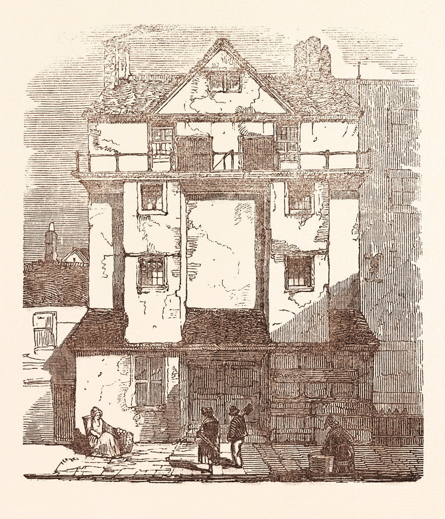 Detail of Caxton's House, in the Almonry by Anonymous