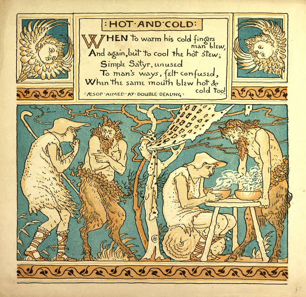Detail of Hot and Cold by Anonymous