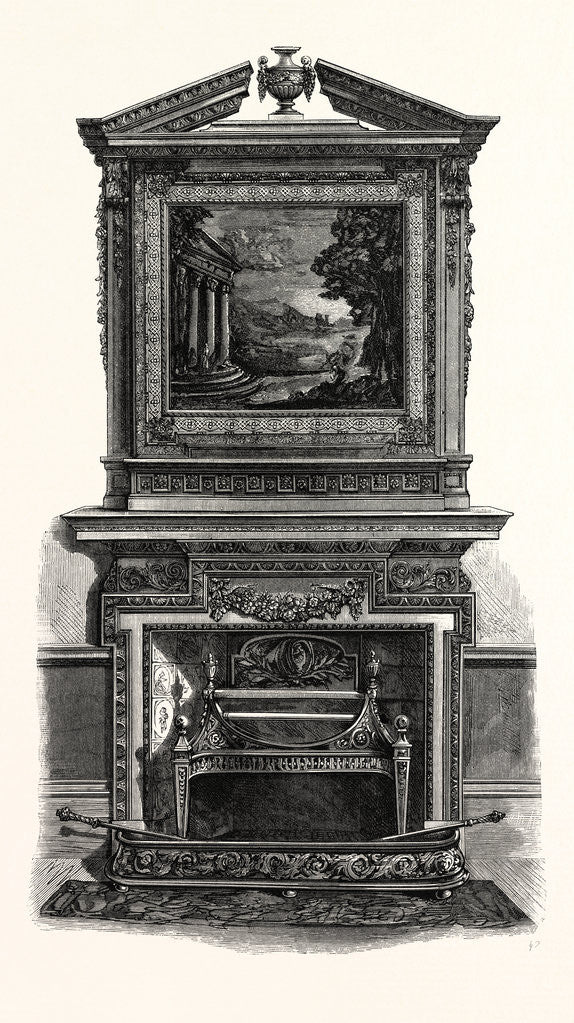 Detail of Designed by Isaac Ware, Circa 1750 by Anonymous