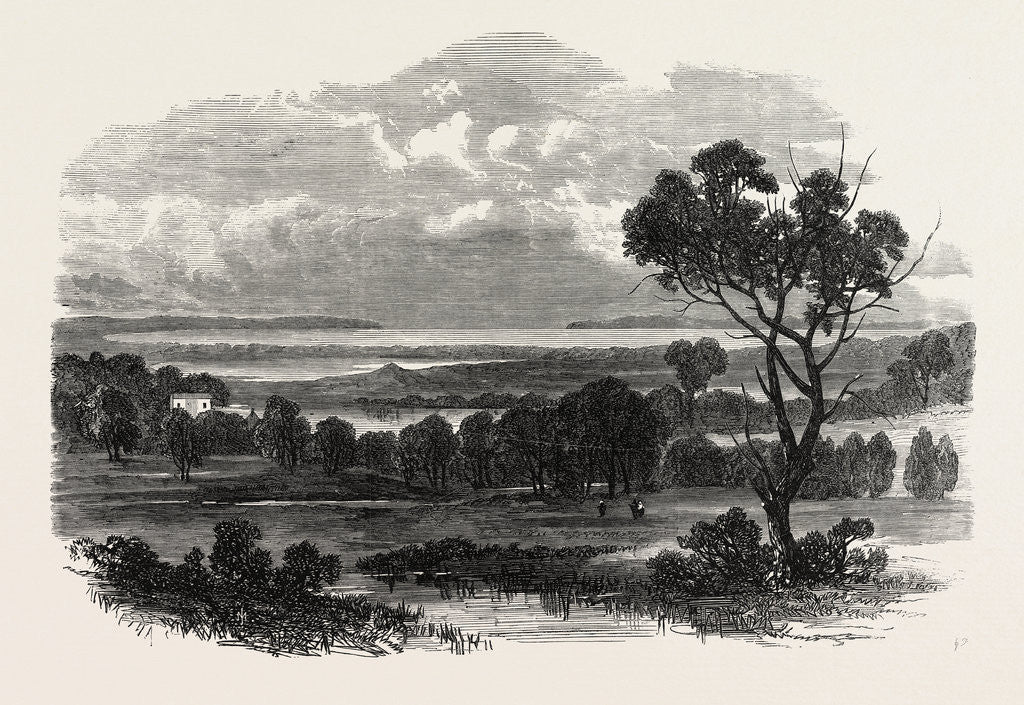 Detail of Botany Bay, New South Wales, with Botany Heads in the Distance, 1865 by Anonymous