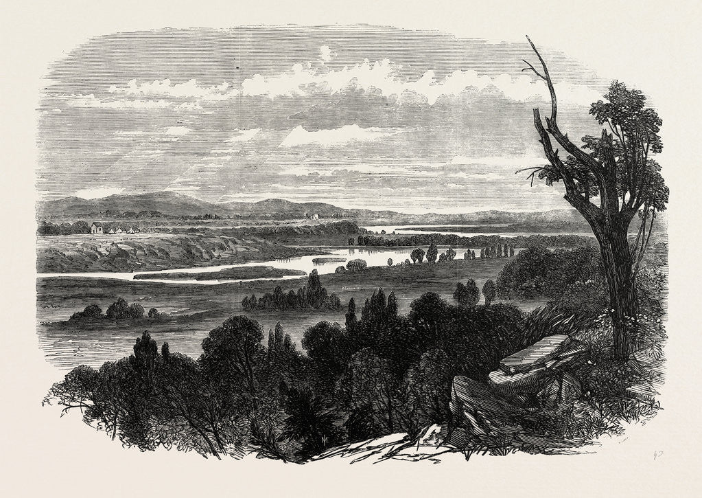 Detail of Cook's River Dam, Botany Bay, New South Wales, 1865 by Anonymous