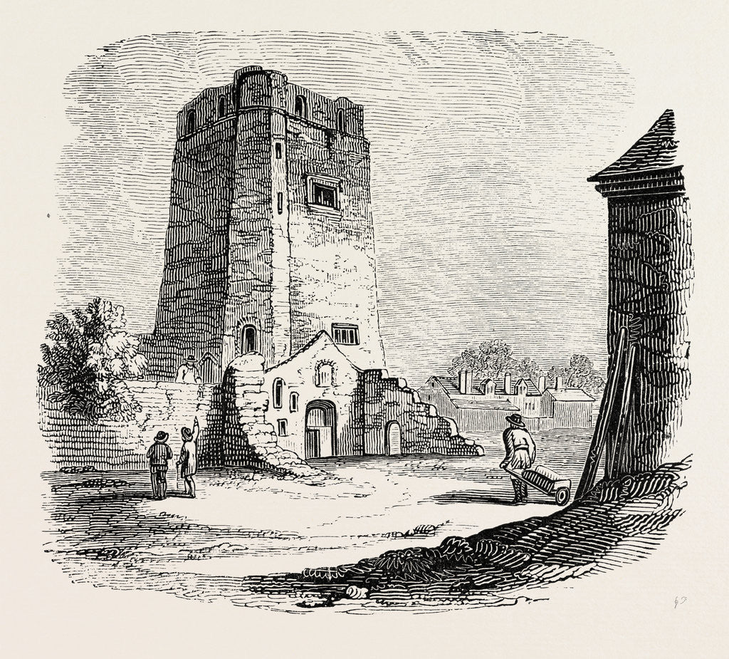 Detail of Oxford Castle by Anonymous