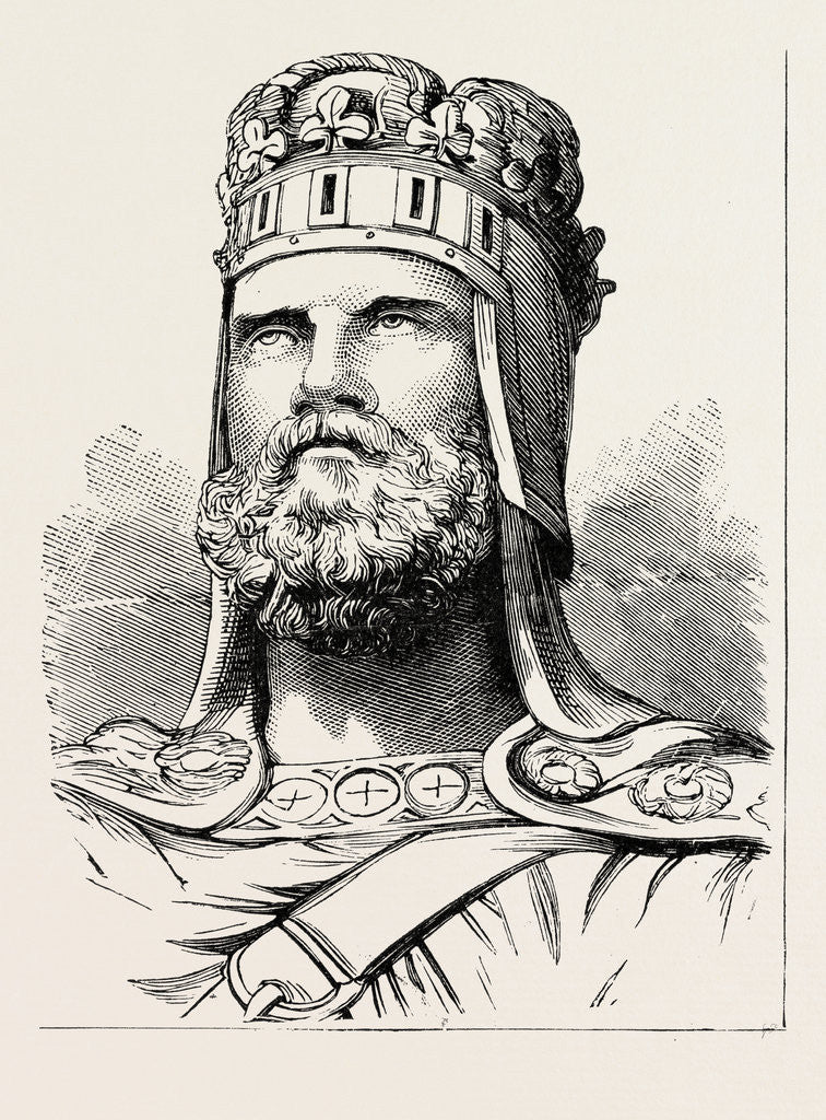 Detail of King Robert Bruce by Anonymous