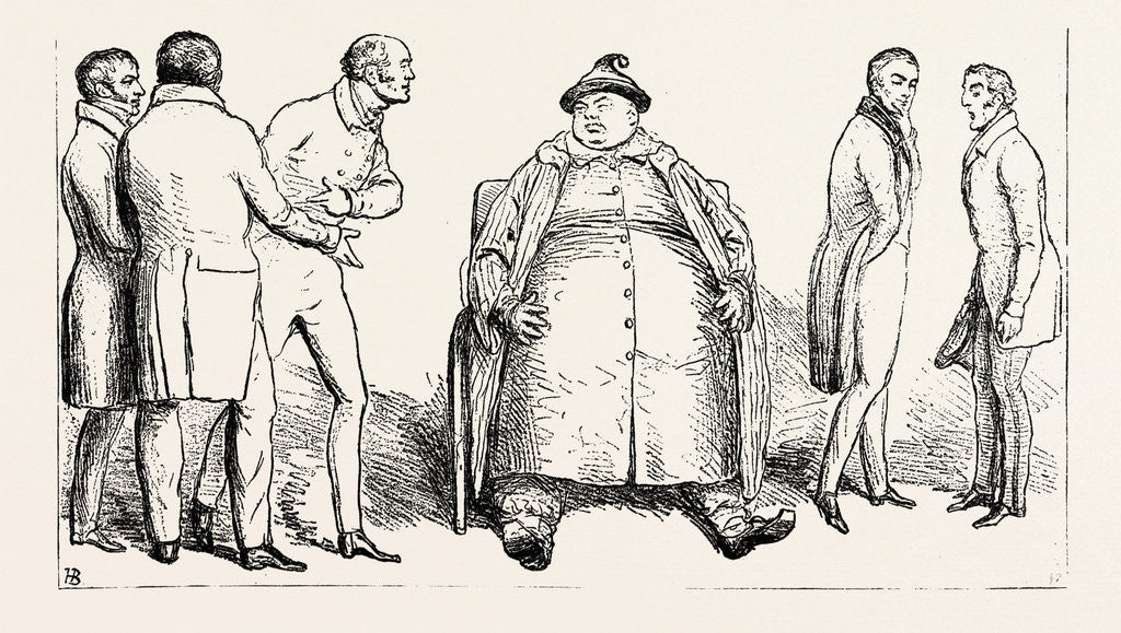 Detail of J. Doyle: Hoo Loo Choo, Alias John Bull, Between the Doctors, May 2, 1831 by Anonymous
