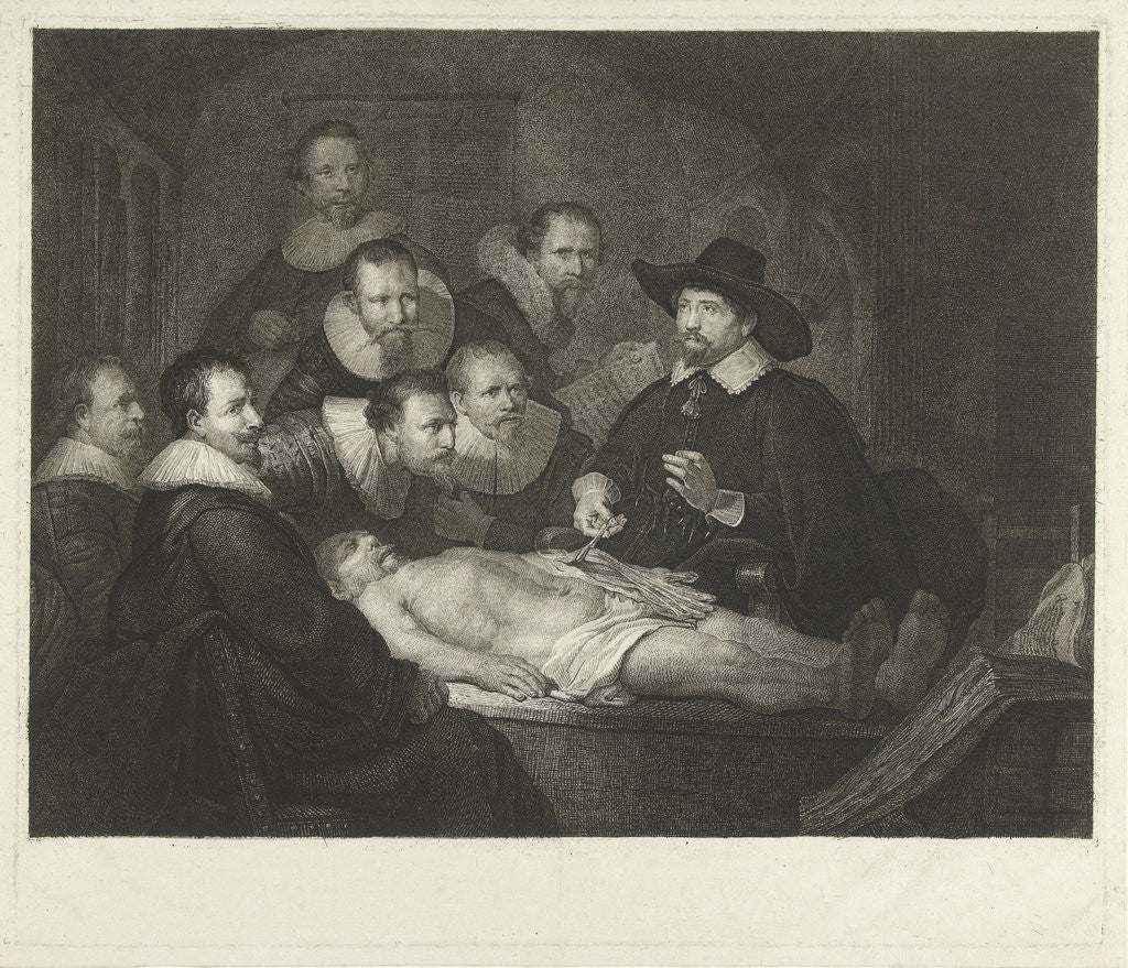 The Anatomy Lesson of Dr Nicolaes Tulp posters & prints by Rembrandt ...