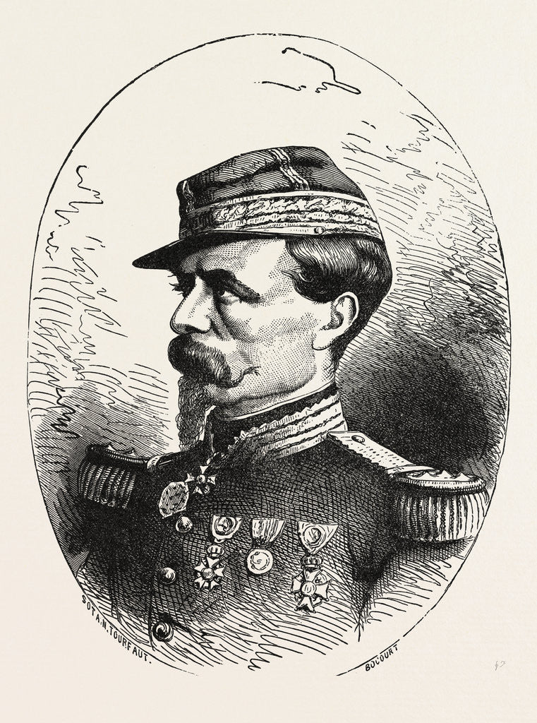 Detail of General Chanzy, Commander of the Second Army Loire, France by Anonymous