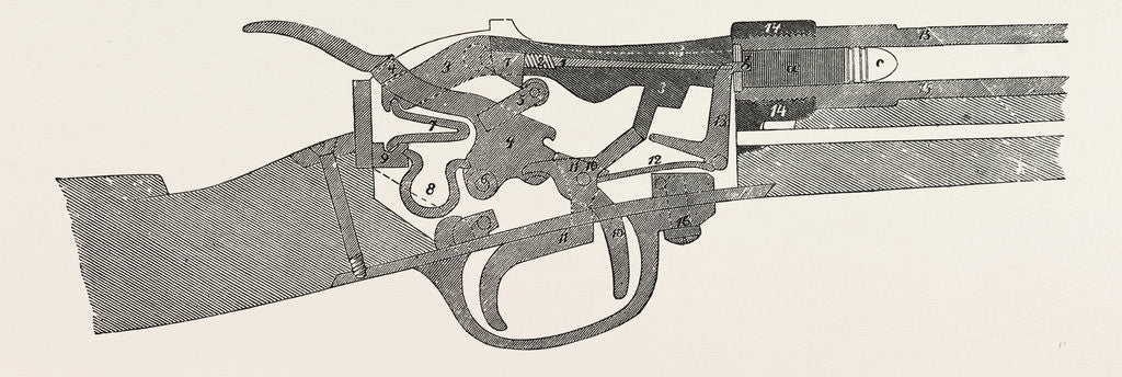 Detail of Gun of Werder by Anonymous