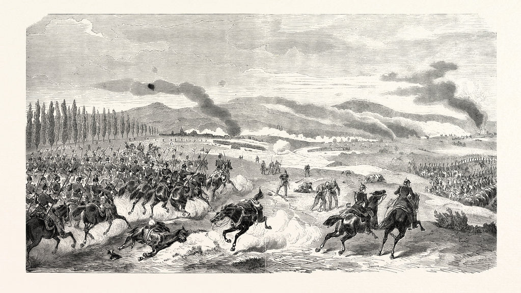 Detail of Battle of Noisseville 31 August 1870 by Anonymous
