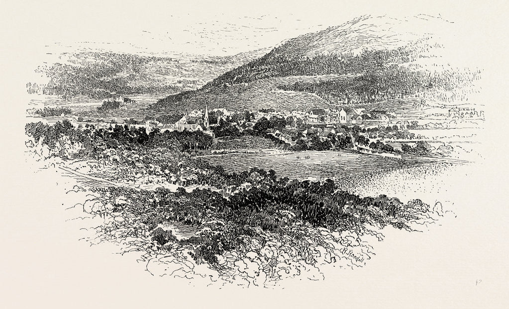 Detail of Braemar is a Village in Aberdeenshire by Anonymous