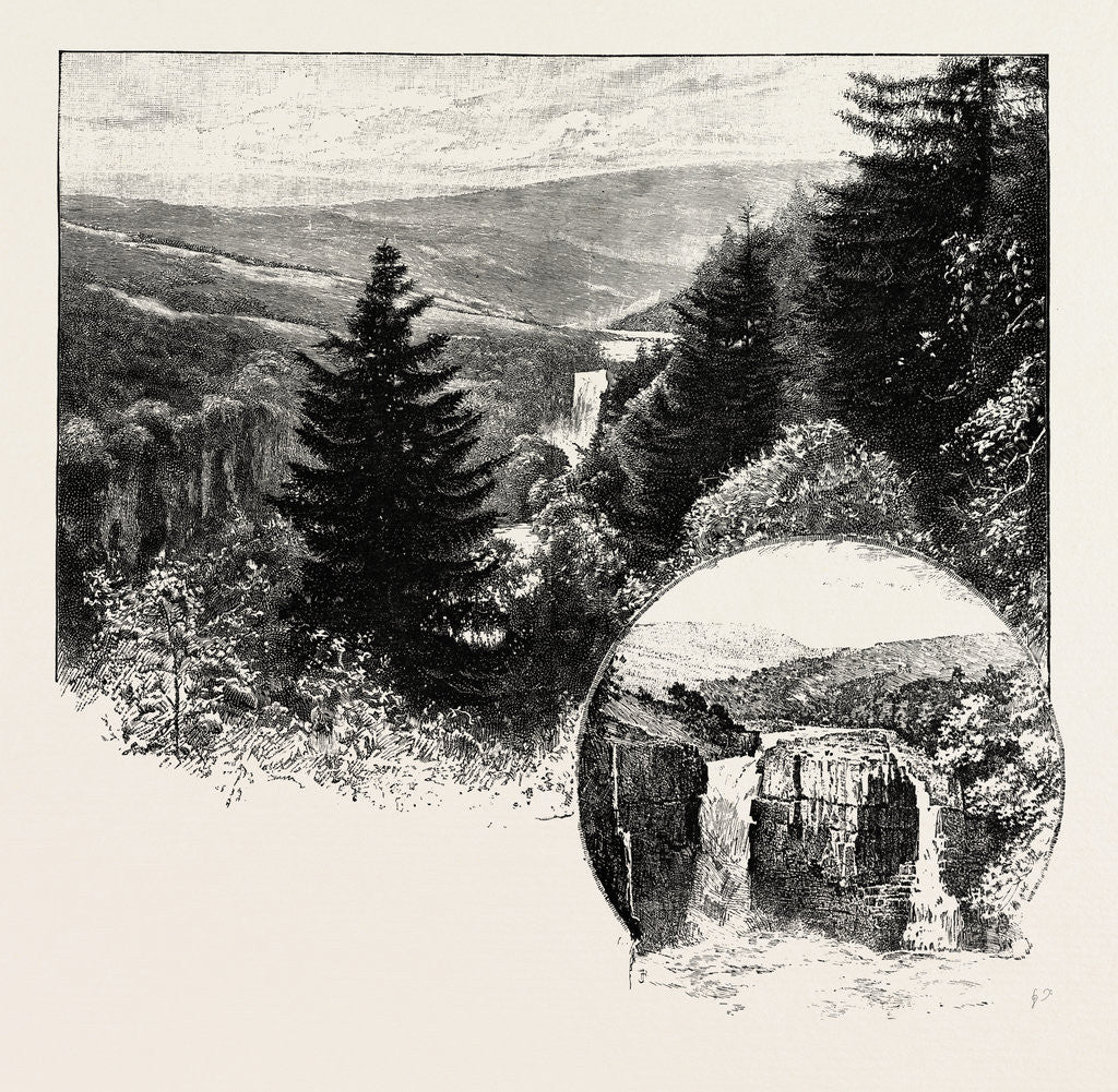 Detail of High Force; from York Side by Anonymous