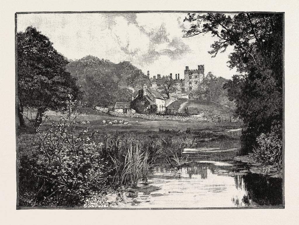 Detail of Haddon Hall, from the Wye by Anonymous