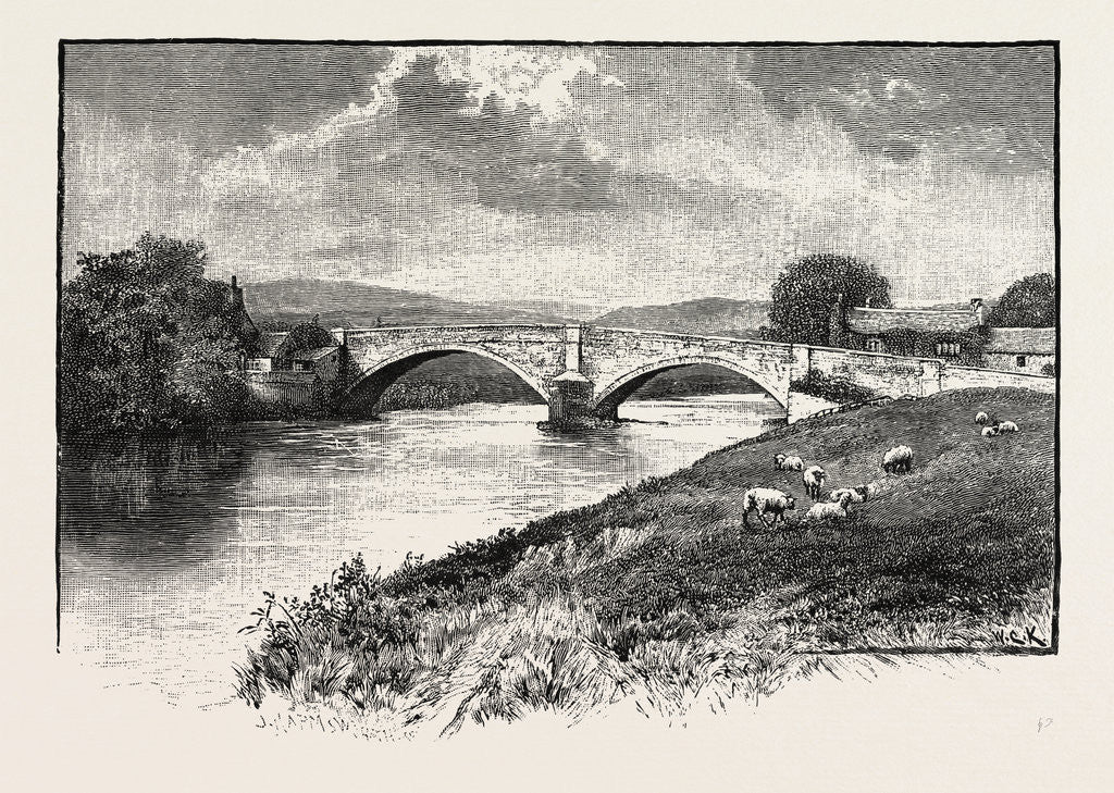 Detail of Bolton Bridge by Anonymous