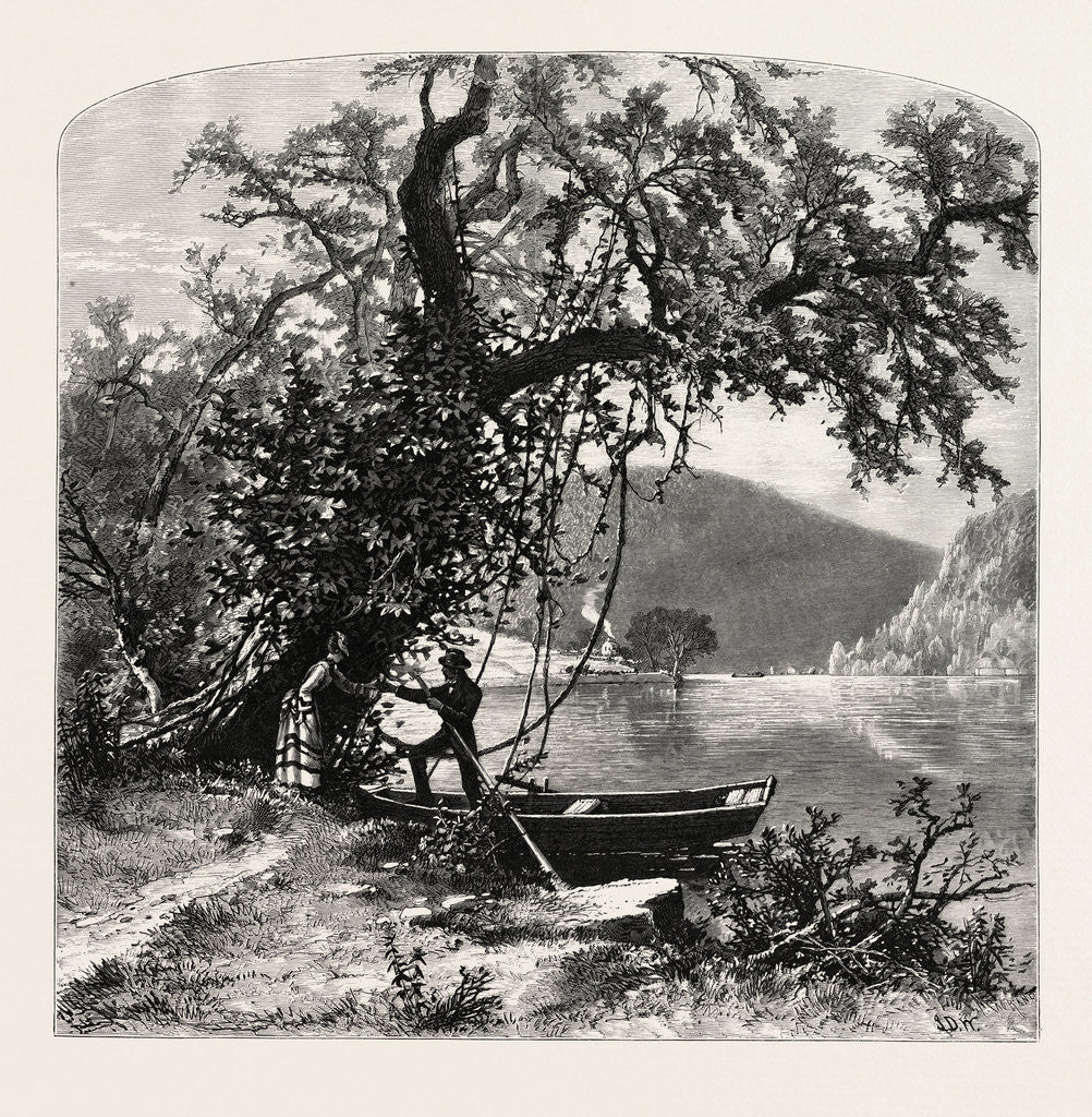 Detail of James River, above Rope Ferry, Virginia by Anonymous