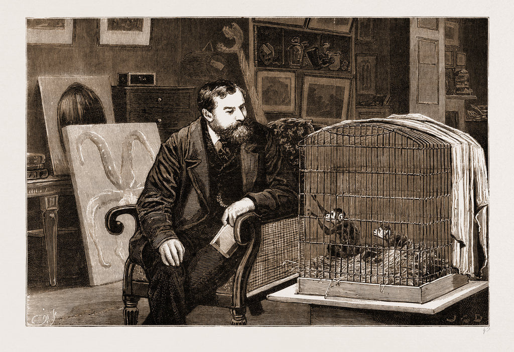 The Late Mr. Frank Buckland at Home, 1881
