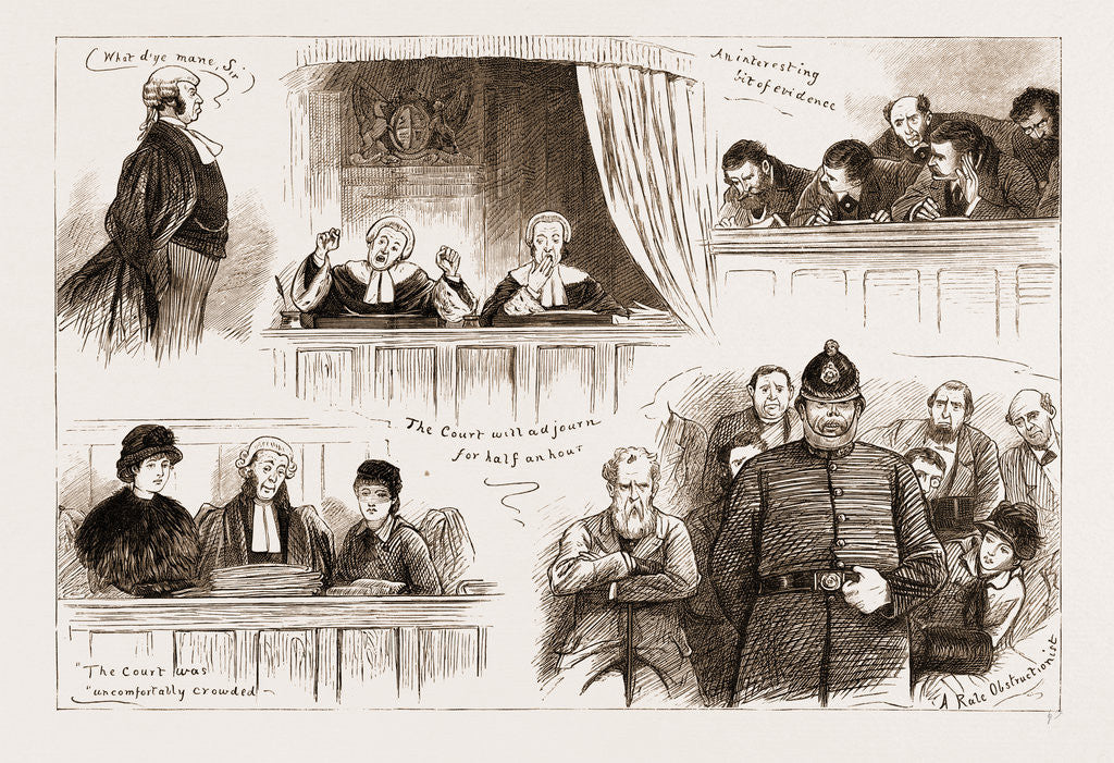 The Land Agitation In Ireland: The State Trial In Dublin, Sketches In Court