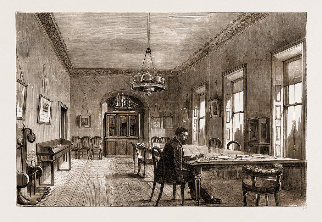 The Land Agitation In Ireland, The New Committee-room Of The Land-league In Dublin