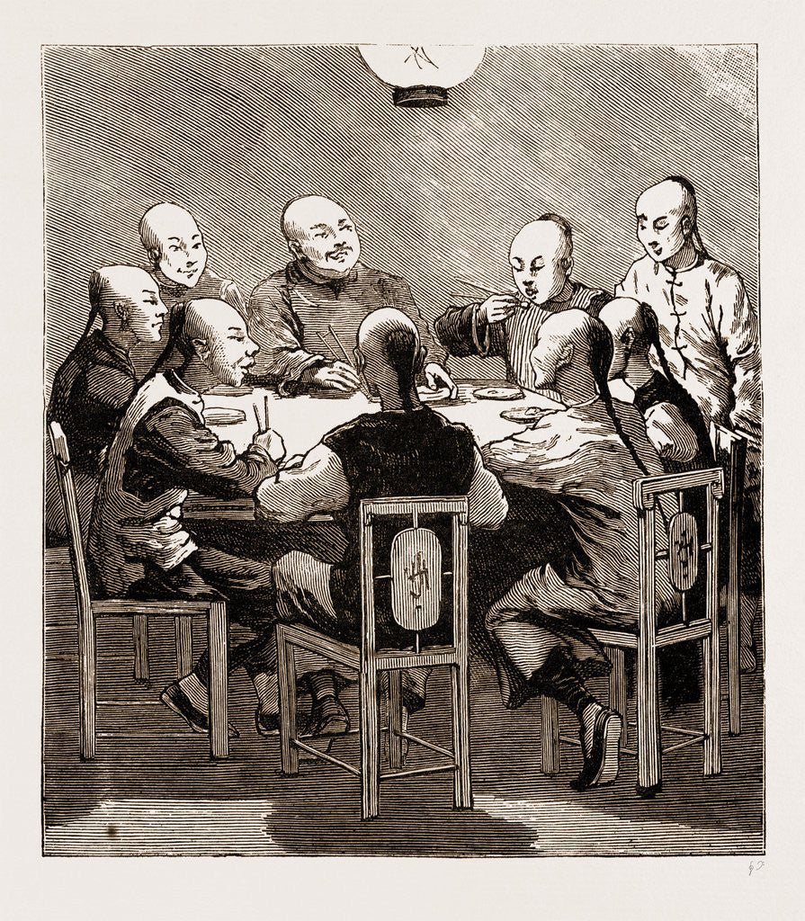 A Chinese Dinner Party, China