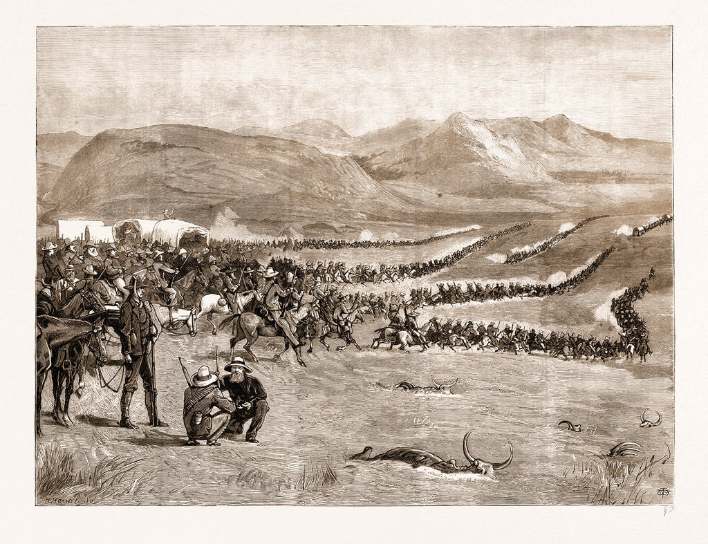 The Negotiations In The Transvaal, South Africa: Evacuation Of Laing's Nek