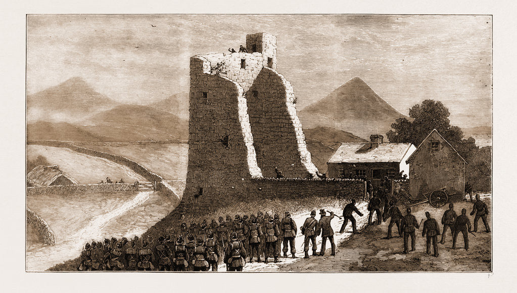 The Land Agitation In Ireland, 1881: Storming Castletown Castle At New Pallas