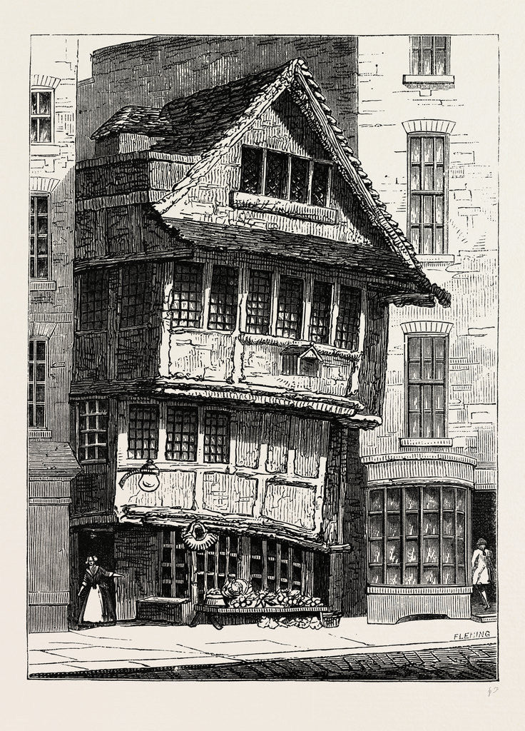 The Old Fountain, in the Minories, 1798