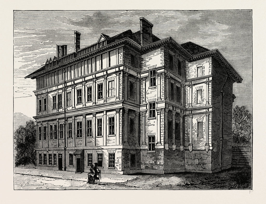 Old Craven House, 1800