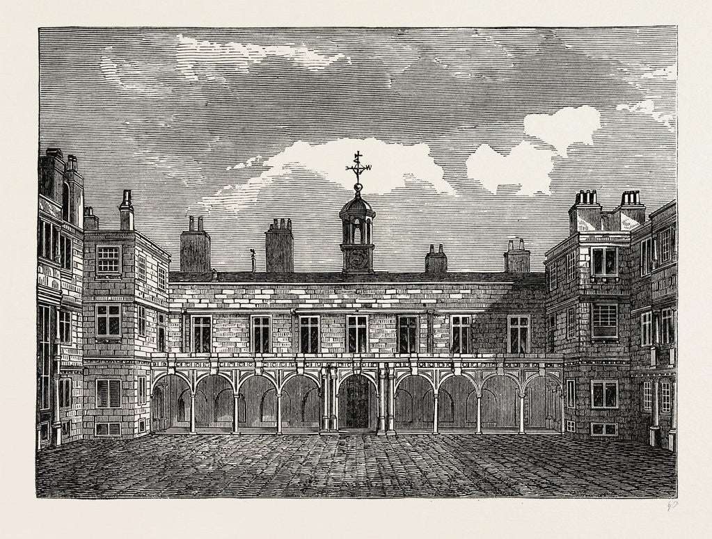 Court of Old Somerset House, from the North