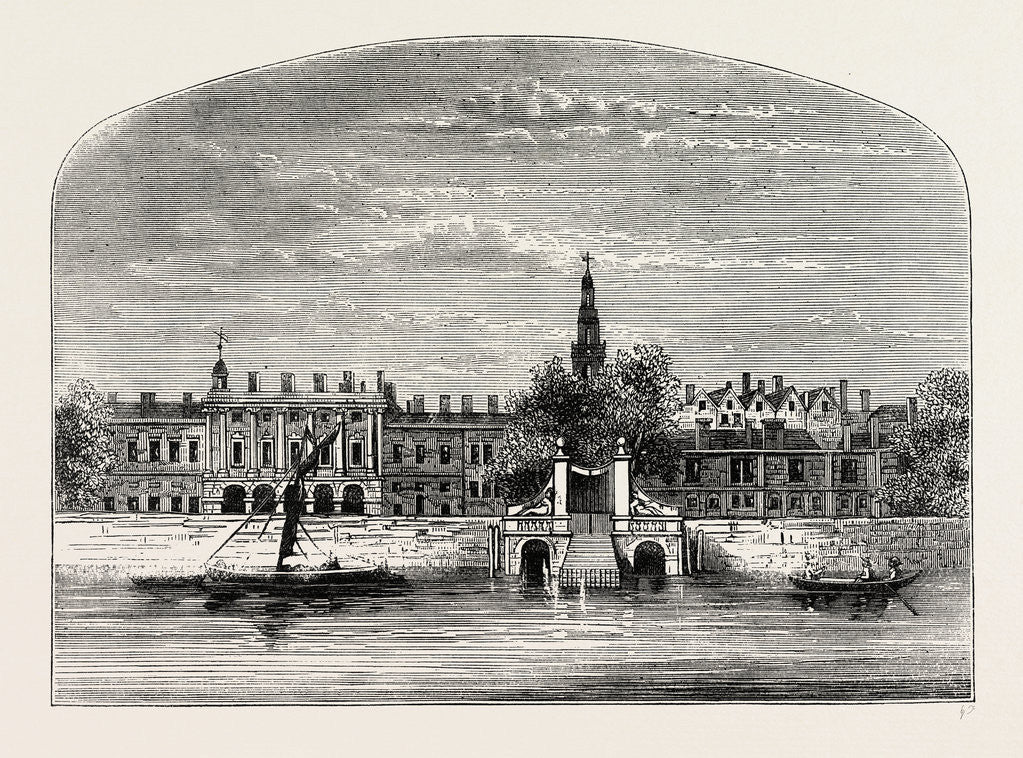 Somerset House And Stairs, 1776