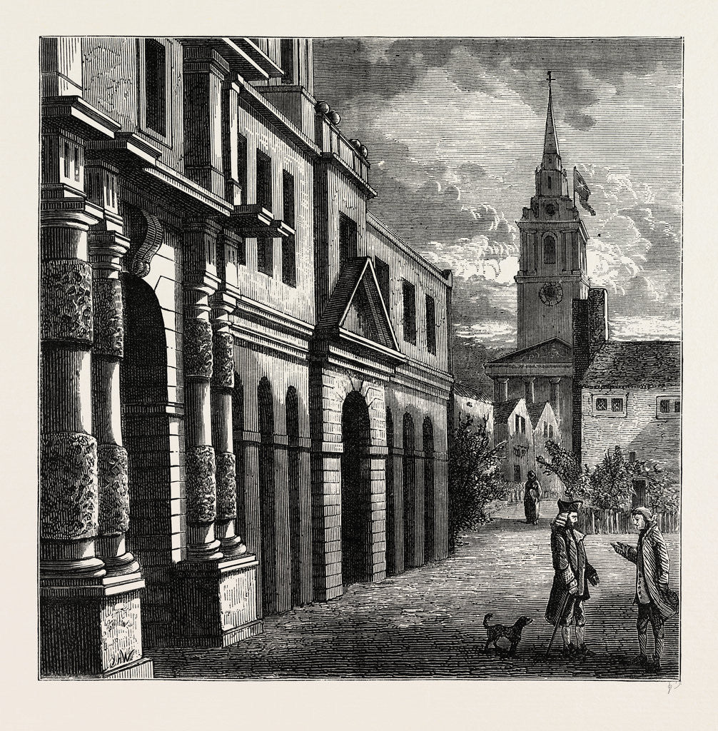 The King's Mews, 1750