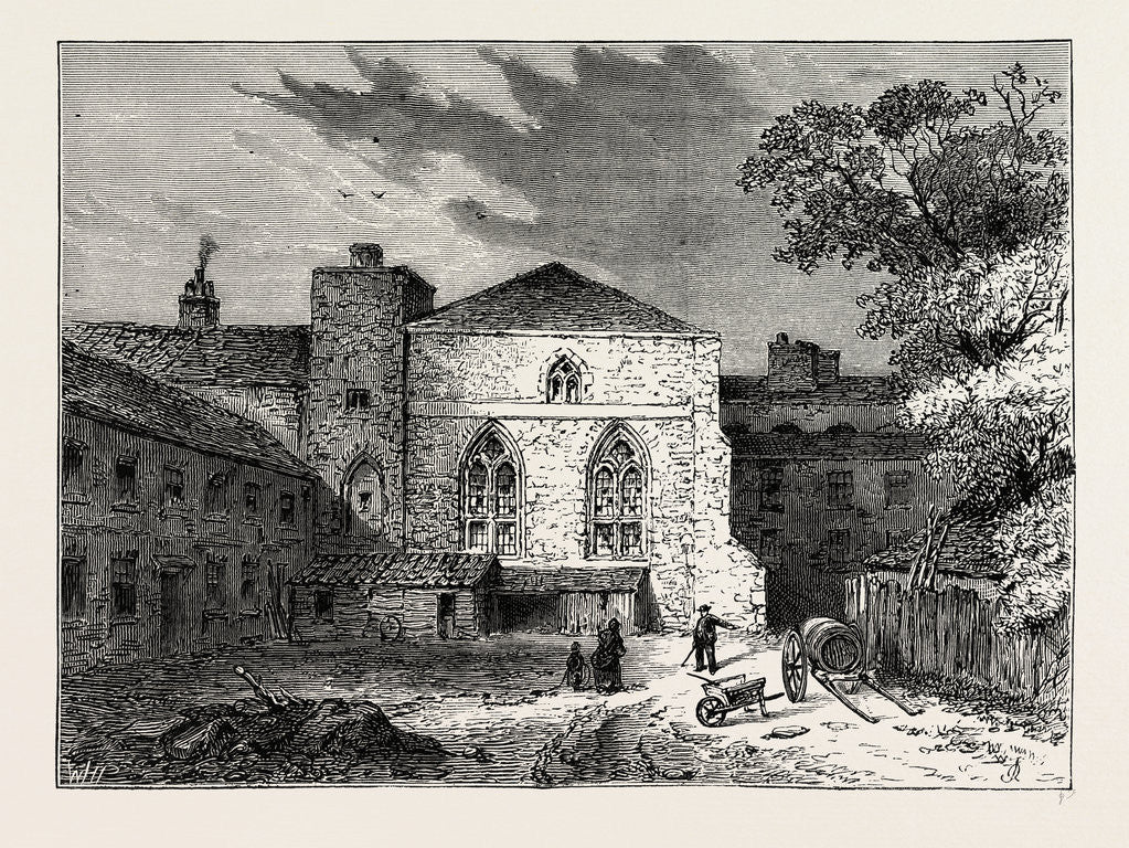 The Painted Chamber, before 1834
