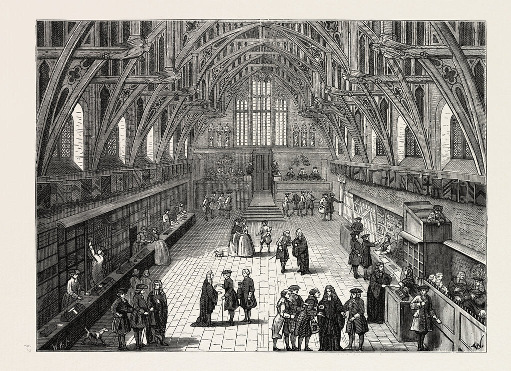 Old Westminster Hall 1797