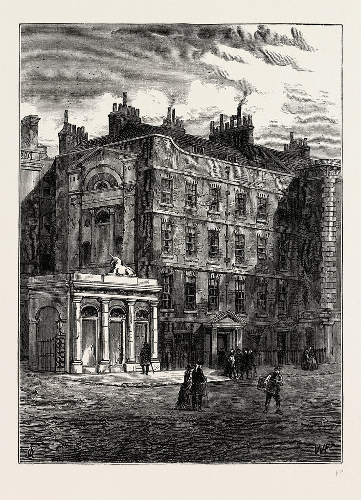 Messrs. Christie And Manson's Original Auction Rooms