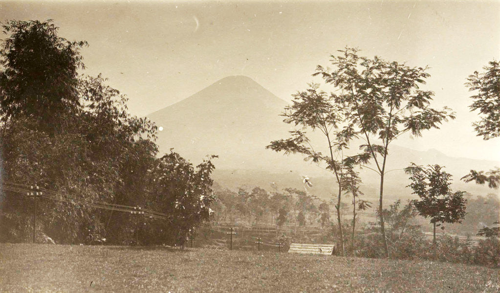 Detail of Java, Indonesia, mountain Sindoro to Ninisvbo by Anonymous