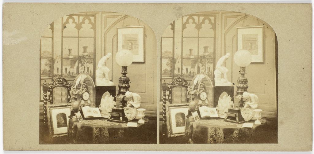 Detail of Artistic Group by The London Stereoscopic Company
