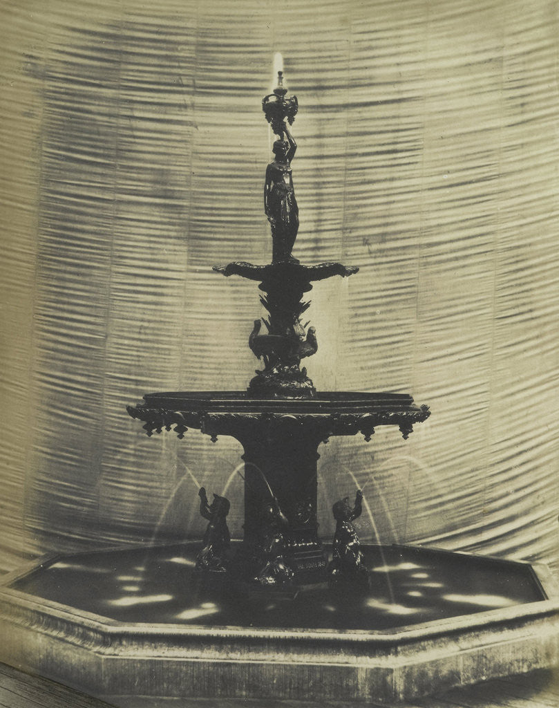 Detail of Cast Iron Fountain by C.M. Ferrier & F. von Martens