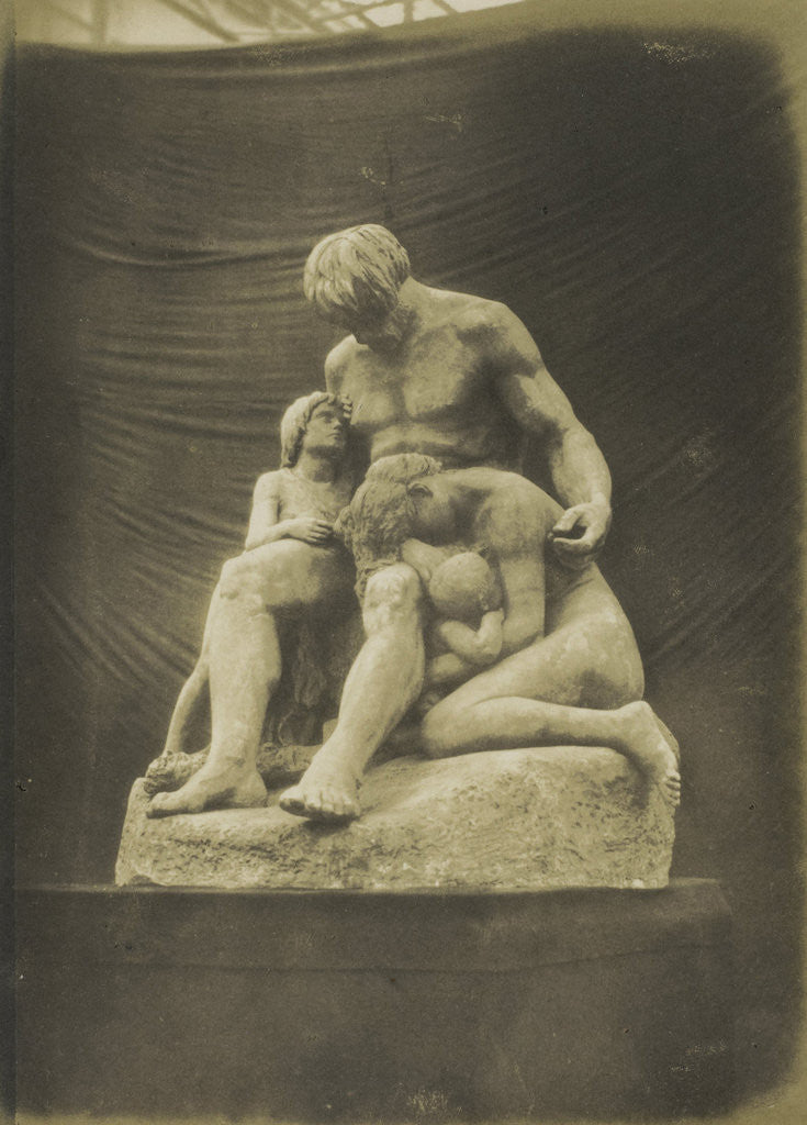 Detail of Cain and his Family. (Plaster) Etex by Anonymous