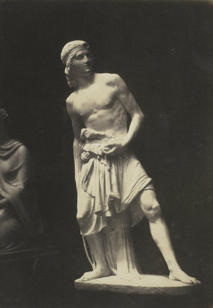 Detail of David. (Marble) Fraccaroli by Anonymous