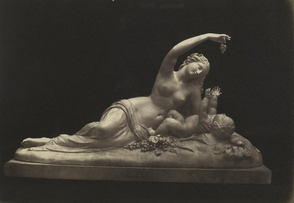 Detail of Ino and Bacchus by C.M. Ferrier & F. von Martens