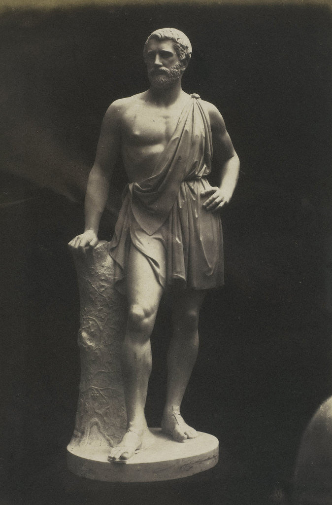 Detail of Iconic Statue. (Marble) MacDonald by Anonymous