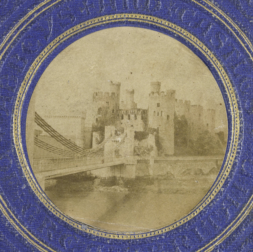 Detail of Conway Castle by William Russell Sedgfield
