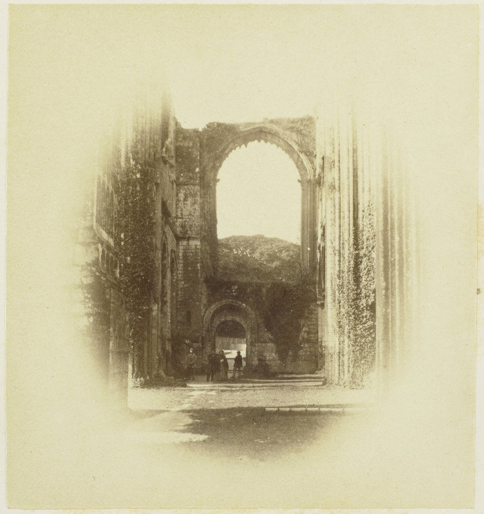 Detail of Furness Abbey, North Transept by Roger Fenton