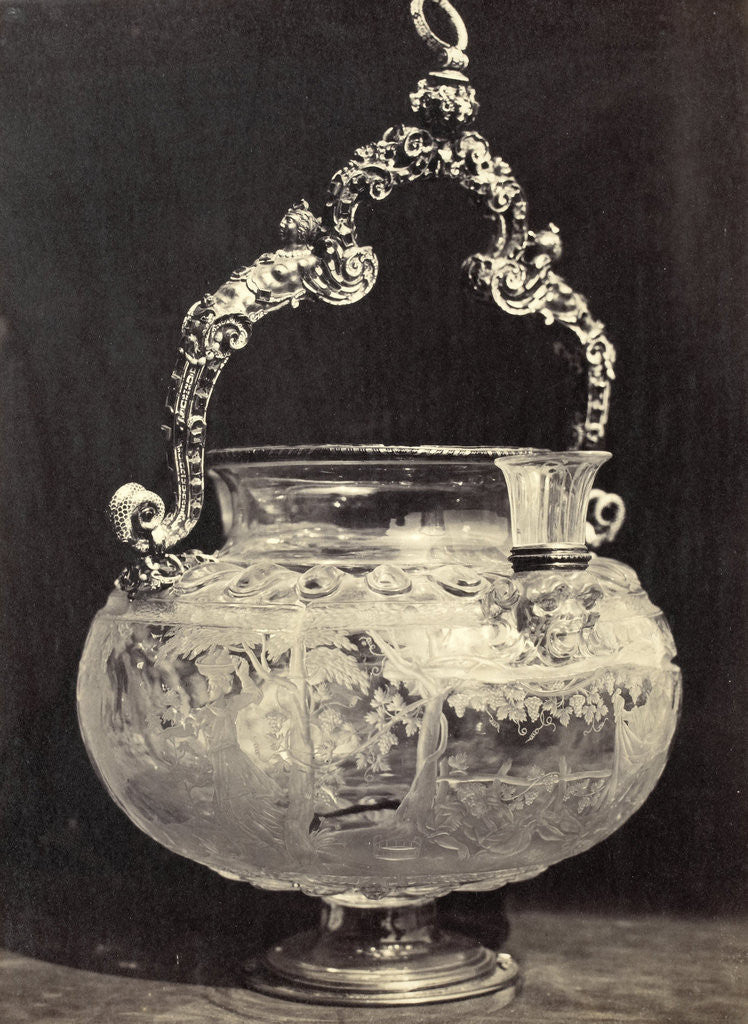 Detail of Crystals barrel with metal handle, from the Louvre by Charles Thurston Thompson